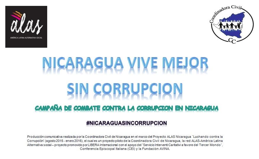 Nicaragua vive mejor sin Corrupcion (Proyecto contra la Corrupcion)