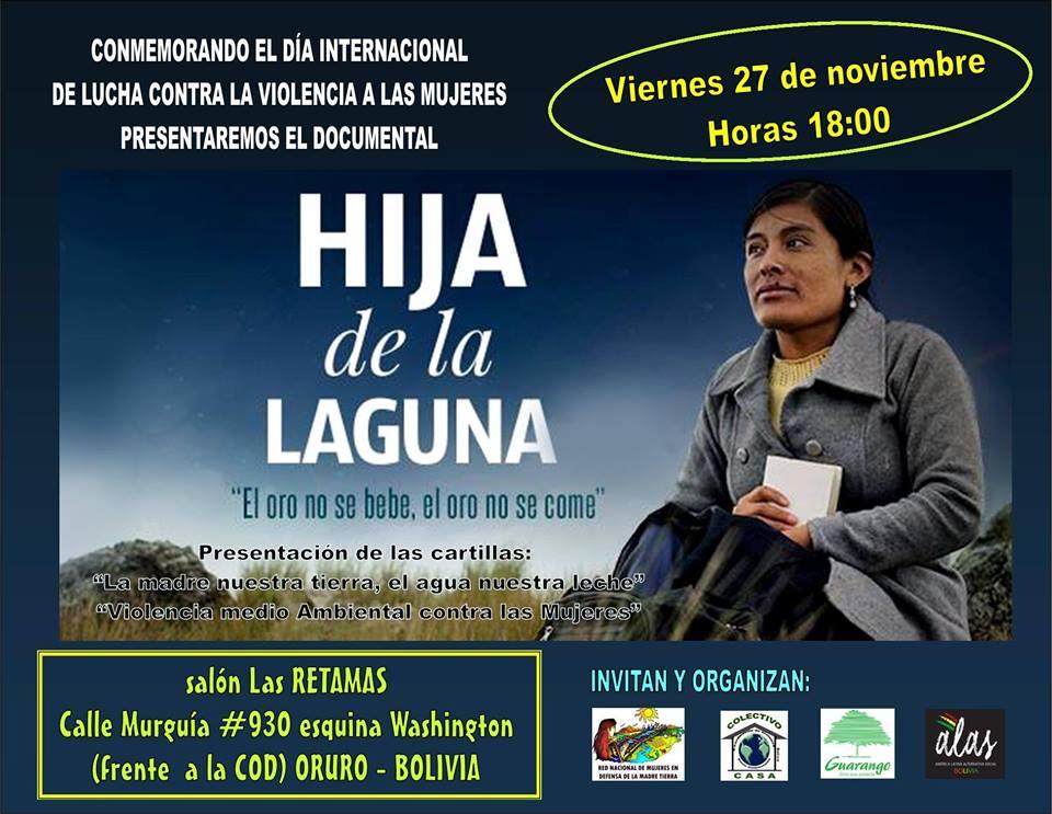 Afiche Hija de la Laguna