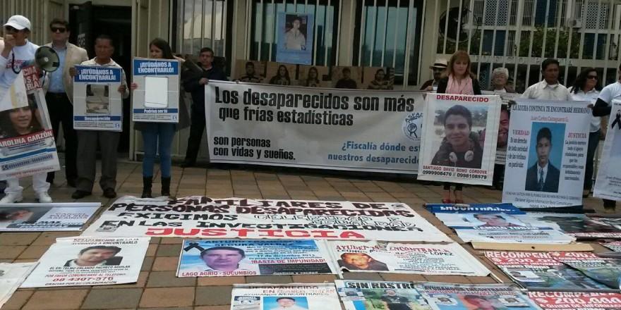 desaparecidos Equador